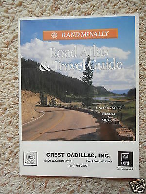**1991 Rand McNally Atlas Travel Guide, US - CANADA - MEXICO, XLNT,One Owner**