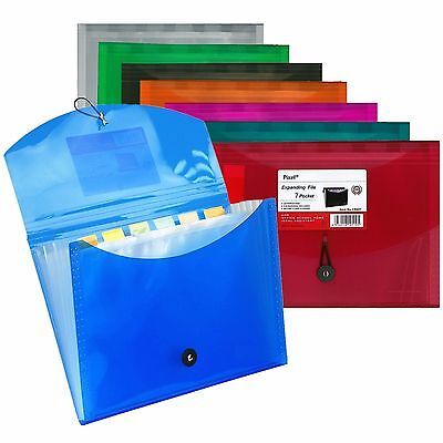 Expendable A4 Size File  Documents Paper Organiser Wallet Folder for Documents