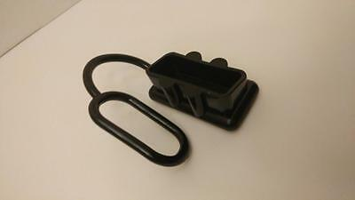"DUST COVER FOR ANDERSON CONNECTORS, BIG SB175 PLUGS,Black-SOFT, 2"" x 1"" opening"