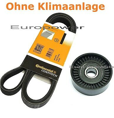 V-RIBBED BELTS - Set + Tension Pulley VAUXHALL COMBO 1.6 - 16V CNG Yr: 2001 ->