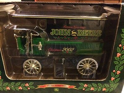 New ERTL John Deere 1904 Knox Delivery Wagon, 1:25 Scale