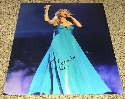 Celine Dion Signed 11x14 Photo with proof