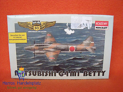 Academy Minicraft ® 4409 Mitsubishi G4M1 Betty 1:144