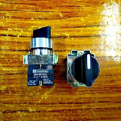 22MM PANEL MOUNTING Maintain Type Selector Switch 2 Position 3 Position NO Aux