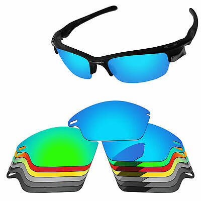 Polarized Replacement Lenses For-Oakley Fast Jacket Sunglasses Multi - Options