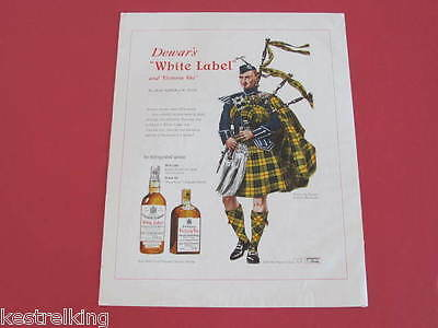 Dewars White Label Scotch Whisky & Borg Warner Willys Overland Advertisments