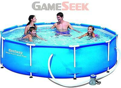 Bestway - Steel Pro Frame Pool 305X76Cm With Pump (4678L) /outdoor Toys
