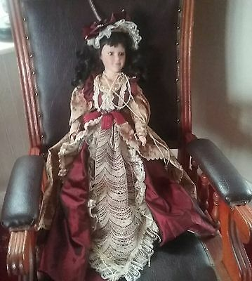 "victorian  style 25 ""   doll"