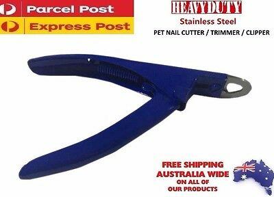 Pet Heavy Duty Nail Clipper Cutter Dog Cat Rabbit Toe Claw Paw Grooming care NEW