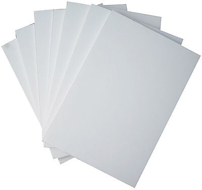 White Foam Board / Foamboard - 5mm - A1 A2 A3 A4 Sizes