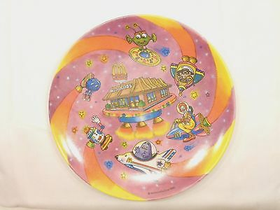 Mcdonald's  Plastic Plate, 1985, Hard To Find