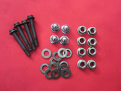 Genuine Honda Cbr 1000 Cbr1000 F Cylinder Nuts & Washers 1989 -99 90017My9790