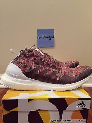 new product ceec8 d8685 ADIDAS CONSORTIUM X Kith Aspen Ultra Boost Mid Multicolor Ronnie Fieg BY2592