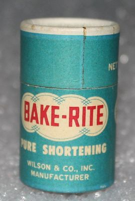 Vintage BAKE RITE PURE SHORTENING Matches Match Sticks Miniature NEW OLD STOCK!