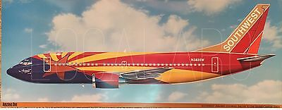 Southwest Airlines B737 Arizona One livery poster