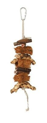 Prevue Pet Products Naturals Coco Rope Mini Bird Toy
