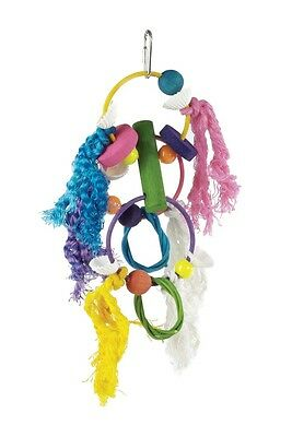 Prevue Pet Products Stick Staxs Rings N Things Bird Toy
