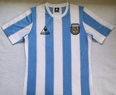 1986 Argentina home retro classic soccer football shirt jersey