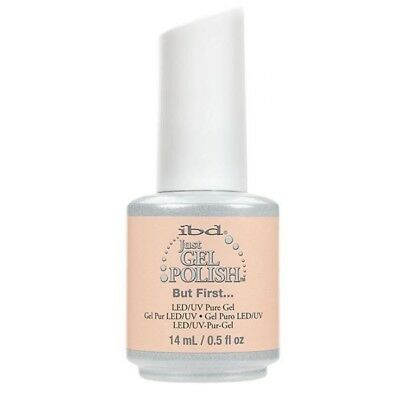 IBD Just Gel UV LED Gel Nail Polish But First... #65725