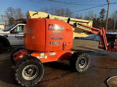 Jlg 450Aj, 45 Ft Articulating Boom Lift, 4X4, Diesel, Awp, Aerial Man Lift