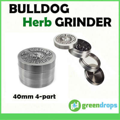 Herb Grinder No.1 Crusher Shark Teeth 3 part 60mm MAGNETIC Raw Tobacco Rolling