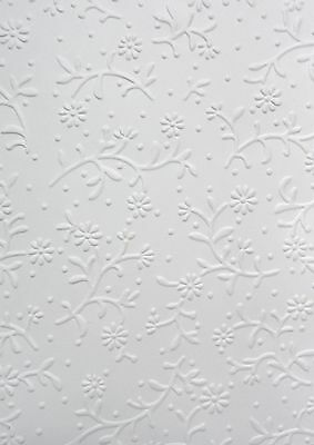 Embossed Card Topper-Petite Flowers-Pkt 5