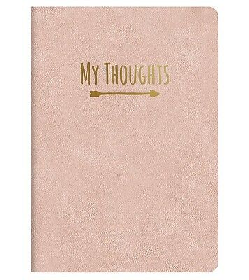 NEW Studio Oh! Leatheresque Lined Journal Notebook Practically Pink