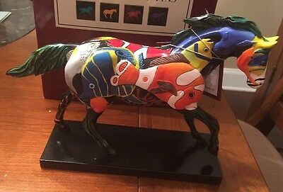 TROPICAL REEF, Trail Of Painted Ponies, 1E 9168, NEW Resin Figurine, Box, Tag.