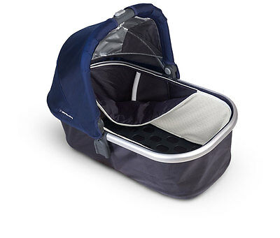 Bassinet for Uppababy Vista Stroller Cover Case Canopy Navy Blue COVER Apron NEW