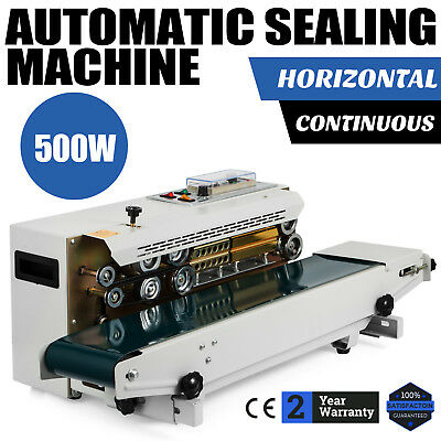 Automatic Sealing Machine Horizontal Continuous Plastic Bag Band Sealer Fr-900