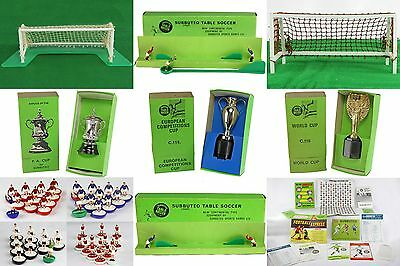 Subbuteo Late 60's Early 70's Goals Cups H/W Teams Accessories