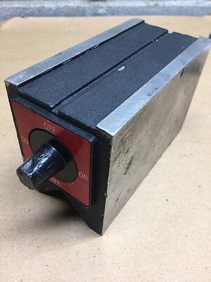 "Magnetic V-Block 5-1/2 x 2-3/4 x 3-1/2"" Machinist"
