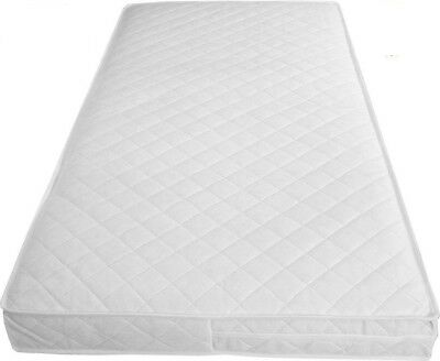 Thick BABY COT BED MATTRESS / TODDLER QUILTED BREATHABLE WITH ZIP COVER