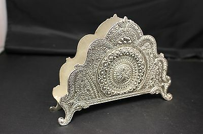Silver Plated Napkin Holder Home Decor