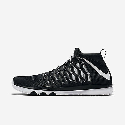864a8cf44bec1 Nike Men s Train Ultrafast Flyknit Shoes Size 7.5-10 Black White Grey 843694 -010