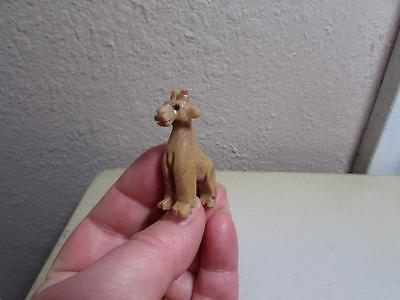 Giraffe, Miniature Solid stone Hand carved from the Andes, Rich Colorful Giraffe