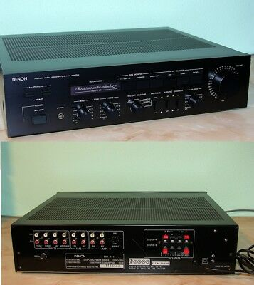 Denon PMA-737 Amplificateur Poweramp international shipping & paypal available