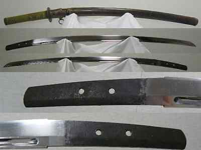 JAPANESE KATANA SWORD RYOKAI w NBTHK HOZON WORLD WAR II KOSHAIRE