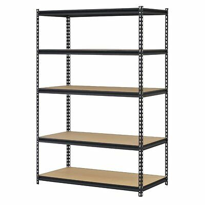5 Level Heavy Duty Shelf Garage Steel Metal Adjustable Shelves Storage Rack