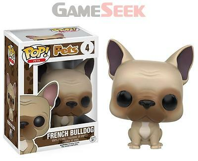 Pop! Pets: Dogs French Bulldog #4 Vinyl Figure - Toys Brand New Free Delivery
