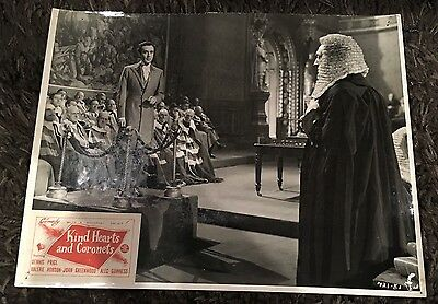 KIND HEARTS & CORONETS 11x14 still '50 Dennis Price Ealing classic!