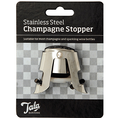 NEW Tala - Professional Quality Champagne Stopper - Wine Beer Rum Drinks Whiskey