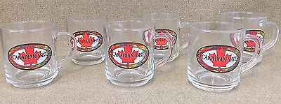 CANADIAN MIST Glass MUG LIQUOR WHISKEY Bar barware COLLECTIBLE coffee tea 4 INCH