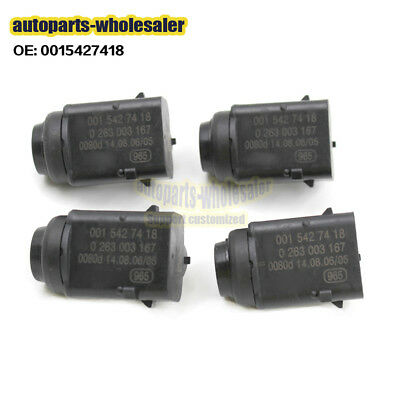 4PCS PDC Parking Distance Sensors Fit MB Mercedes-Benz W203 W209 W210 W211 W220