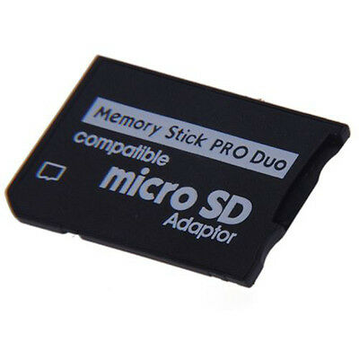 Mini Micro SD SDHC TF to Memory Stick MS Pro Duo PSP Adapter Converter Card