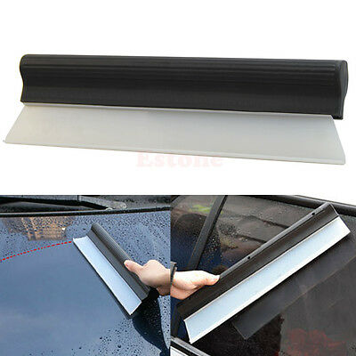 Seccatoio Car antiscivolo Wiper Acqua Lama non Scratch-Window Clean silicone