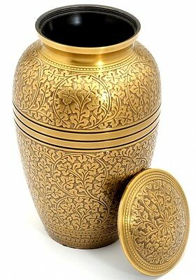 Banbury Brass Cremation Ashes Adult Urn - UU100008A
