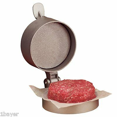 Weston Kitchen Non-Stick Grill BBQ Patty Hamburger Beef Meat Press Mold Maker