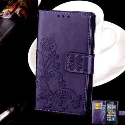 PU Leather Case Wallet Card Flip Stand Cover Shell For Nokia Lumia 930/ 640 /925