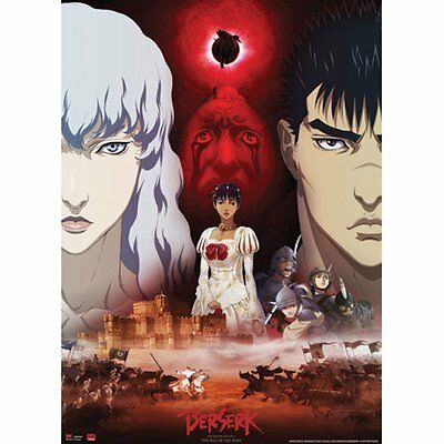 *NEW* Berserk: Guts Griffith & Charlotte Wall Scroll by GE Animation